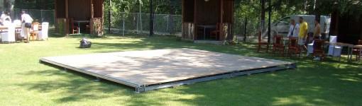 Дървен под за дансинг 30 кв.м