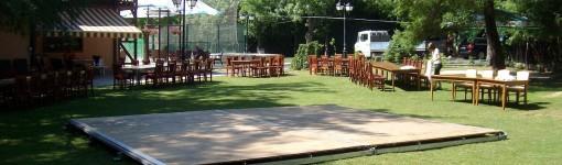 Дървен под за шатри - дансинг за сватба